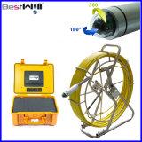 120mのファイバーガラスケーブルが付いている防水鍋及び傾きのビデオ管の点検カメラシステムCr110-7ya