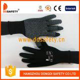 Ddsafety 2017 polyester en nylon de 13 mesures sans joint avec demi de gant de doigt