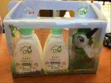 Contenitore di imballaggio di plastica su ordinazione per l'insieme di promozione della crema del gel del bagno dello sciampo