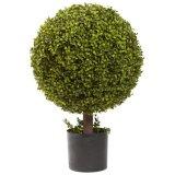 人工的なBoxwoodの装飾刈り込み法の球の木