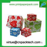 De kleurrijke Doos van het Karton van de Gift van de Gunst van het Lint Decoratieve voor Suikergoed