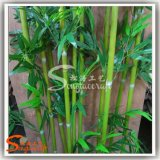 Бамбук везения домашнего украшения искусственний почти естественный