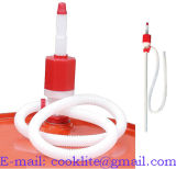 Dp 25 플라스틱 사이펀 이동 드럼 펌프 수동 연료 유동성 싸이펀 펌프