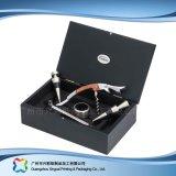 Caixa de empacotamento de couro luxuosa para o cosmético da jóia do alimento do presente (xc-hbg-018)