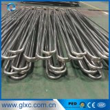Aislante de tubo del acero inoxidable U del fabricante 304 316 para el cambiador de calor