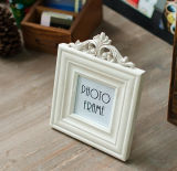 3-pulgadas marco blanco de imagen 3D para la decoración casera