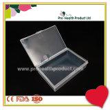 L'emballage portable petite case de l'organiseur plastique carrée transparente des récipients de stockage