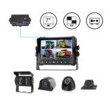 1080P 4CH DVR Monitor con pantalla táctil, el soporte GPS, 3G/4G, WiFi
