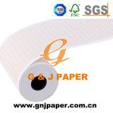 Soins médicaux de bonne qualité graphique d'enregistrement dans la feuille de papier