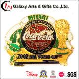 MetallSoft Enamel Federation Internationale De Football Association Pin Badge mit Weltcup Logo