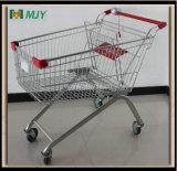 125 litros de carro de compras con el bloqueo Mjy-125b-TPR de la moneda