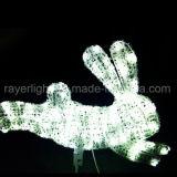 滴りの装飾ライトかえでの葉のHalloween屋外のライト