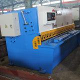 Scherende Maschine des QC12k Kohlenstoffstahl-hydraulische Schwingen-Beam10*6000 Nc mit E21s Controller-System