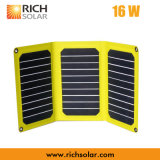 миниый портативный солнечный генератор электрической системы 5V (16W)