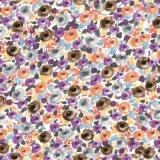 Seta variopinta del tessuto 100% della stampa di Digitahi per l'indumento di modo (SZ-0031)