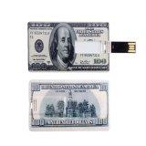 2017 USB caldo 2.0 del bastone del USB di memoria dell'azionamento della penna dell'azionamento personalizzato 128GB 8GB 16GB 32GB 64GB dell'istantaneo del USB delle carte di credito di vendita