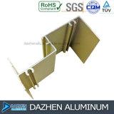 Profilo di alluminio personalizzato 6063 per la vendita della fabbrica del portello della finestra