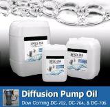 Huile de pompe à diffusion de silicone, huile de pompe à vide haute 704