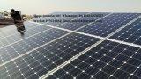 Mono comitati solari di alto potere 325W 72cells per fuori dal sistema solare di griglia