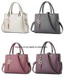 Eenvoudige Stijl Pu van de Kleuren van de Zak van de Schouder van het nieuwe Product de Veelvoudige Dame Handbag