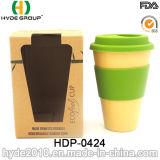 New-Style in kundenspezifischer biodegradierbarer Bambusfaser-Kaffeetasse (HDP-0424)
