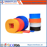 Manguito Flexible Coloreado Layflat del PVC para la Irrigación