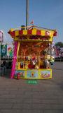 Glücklicher Zeichenkette-Vergnügungspark-Karnevals-Spiel-Stand