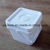 Recipiente di plastica caldo del quadrato del commestibile di vendita per il gelato 5L