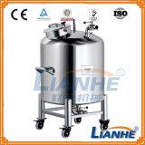 Ouvert en acier inoxydable/scellée contenant du réservoir de stockage de l'eau pour le parfum/crème