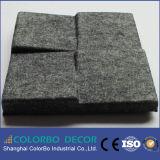 Écran antibruit de la fibre de polyester de la CE 3D pour la décoration de salle