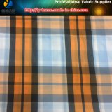 Fashonalのナイロン屋外のワイシャツのためのヤーンによって染められる小切手ファブリック