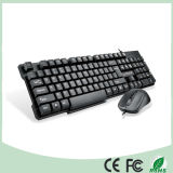Плоский дизайн бизнес-USB для клавиатуры и мыши USB Combo (KB-C16)