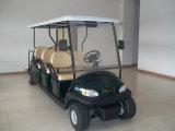 6+2 сиденья автомобиля электрический автомобиль на целый поля для гольфа