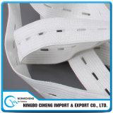Cuerda elastomérica fuerte ancho del ojal elástico Web de la ropa interior