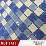 Goedkope Prijs Chinees 25X25mm Zwembad 4mm de Tegel van het Mozaïek van het Glas van de Dikte