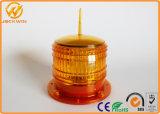 De alto brillo LED marina giratoria Solar Luz de emergencia