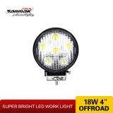 """4 """"accesorios del coche 18W Luz de trabajo del LED"""