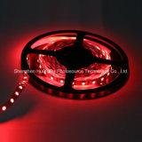 Tira do diodo emissor de luz da microplaqueta 60LEDs 14.4W DC24V da cor vermelha IP20 SMD5050