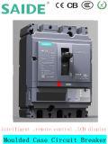 250 un disyuntor de caja moldeada MCCB Pantalla LCD de 3p
