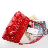 Sacchetto di Crossbody di marca del sacchetto di spalla di modo della borsa della pelle verniciata delle signore
