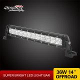 14 '' 36W Slim et Light Singe LED Light Bar