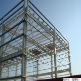 Estrutura de aço leve Prefab com telhado de duas águas House