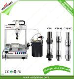Robusteza de relleno del petróleo de Cbd/máquina de embotellado líquida del llenador/del petróleo
