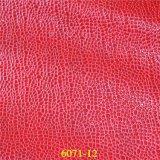 方法および優雅な石造りの穀物PUの物質的なハンドバッグの革