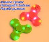 Wireless Bluetooth Speaker Fidget Spinner com luz LED