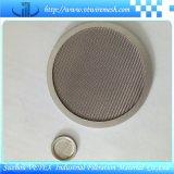 Edelstahl-Filter-Platte mit rundem Loch