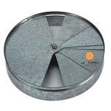 Diffusore rivestito dell'aria di ventilazione della polvere per le parti rotonde del diffusore del soffitto