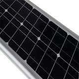 40W tutto in un indicatore luminoso di via solare solare del comitato solare di Sunpower degli indicatori luminosi di via del LED LED