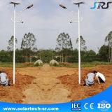 IP66 le réverbère extérieur solaire imperméable à l'eau de stationnement du moniteur DEL assurent la garantie du stationnement