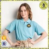 中学校のユニフォームの工場のためのインドのポロシャツおよびスカートデザイン
